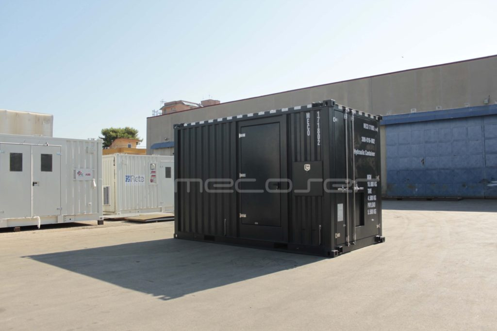 Offshore Sound Isolated Container