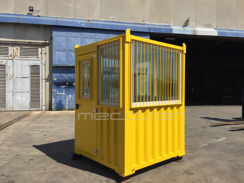 Insulated Control Cabin