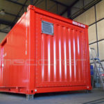Container with A60 Fire Protection